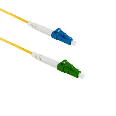 1M LC/APC to LC/UPC Simplex OS2 SMF