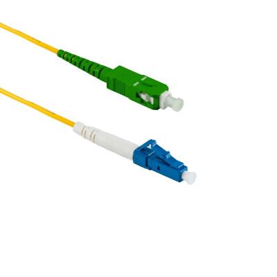 1M LC/UPC auf SC/APC Simplex OS2 SMF