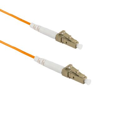 1M LC/APC auf LC/UPC Simplex OM2 MMF