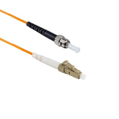 1M LC/APC auf ST/UPC Simplex OM2 MMF