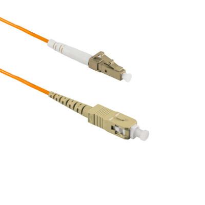1M SC/UPC to LC/APC Simplex OM2 MMF