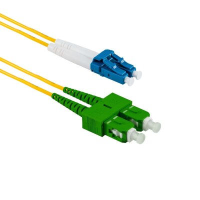 1M SC/APC auf LC/UPC Duplex OS2 SMF