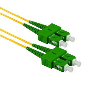 1M SC/APC auf SC/APC Duplex OS2 SMF