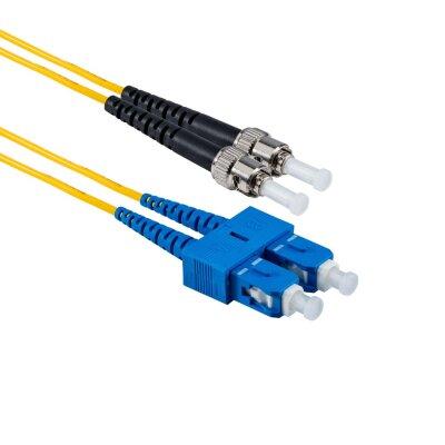 1M SC/UPC to ST/UPC Duplex OS2 SMF
