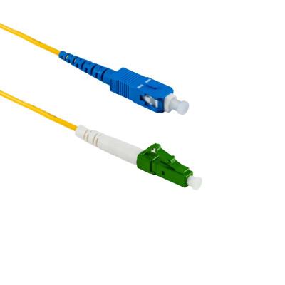 2M LC/APC auf SC/UPC Simplex OS2 SMF