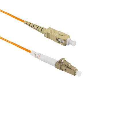 2M LC/UPC auf SC/UPC Simplex OM2 MMF
