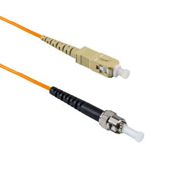 2M ST/UPC to SC/APC Simplex OM2 MMF