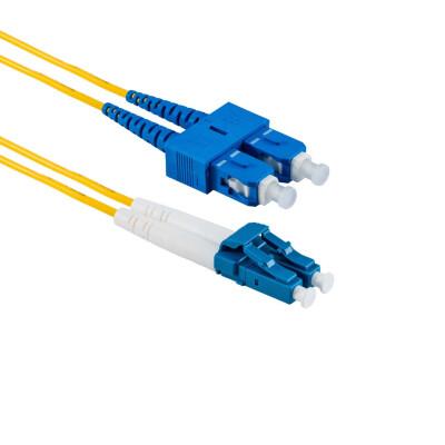 2M LC/UPC auf SC/UPC Duplex OS2 SMF
