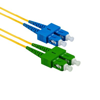 2M SC/APC auf SC/UPC Duplex OS2 SMF