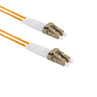 2M LC/APC to LC/UPC Duplex OM2 MMF