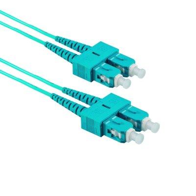 5M SC/APC auf SC/UPC Duplex OM3 MMF