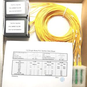 1:8 PLC-Splitter, Single Mode 2,0 mm